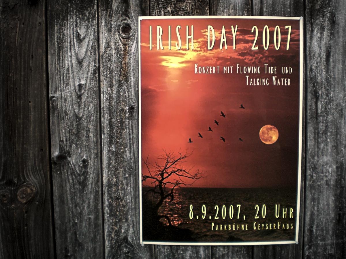 Poster vom Irish Day